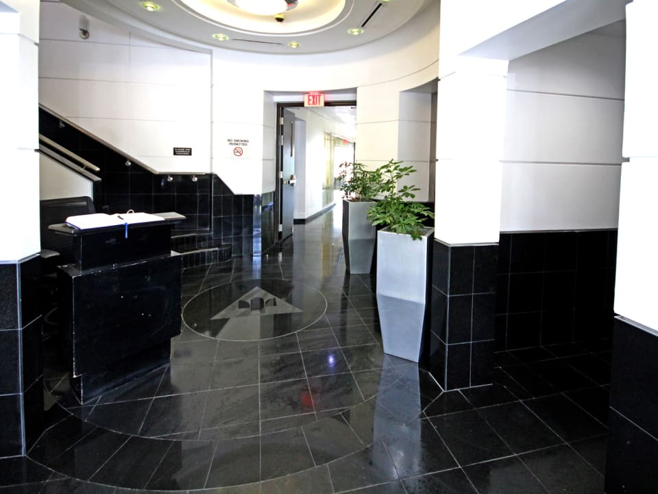 Main entry foyer
