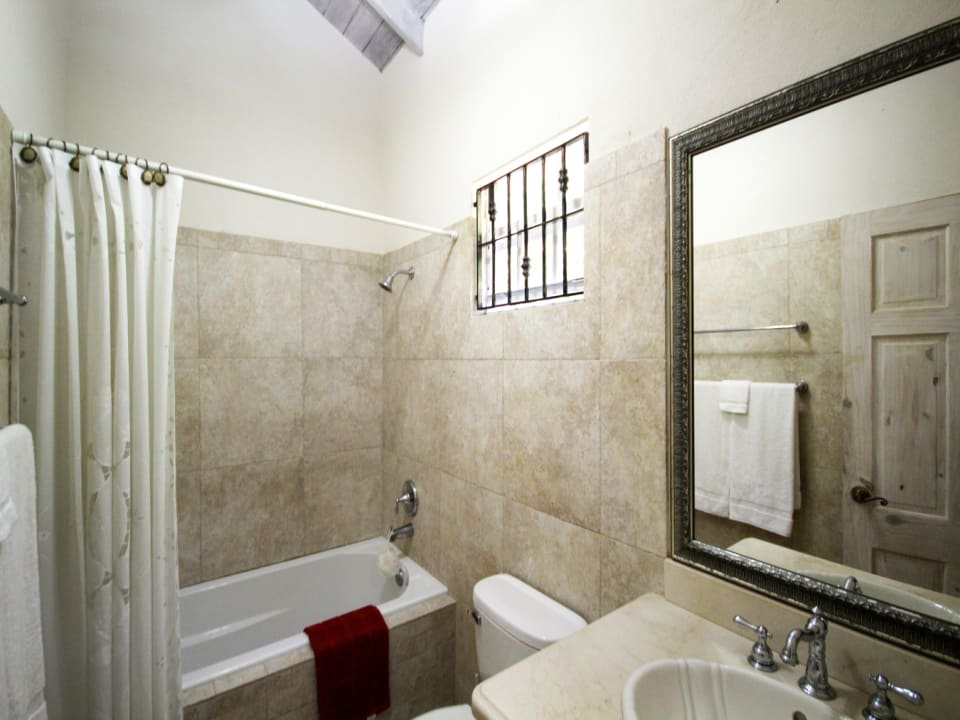 Bathroom in cottage