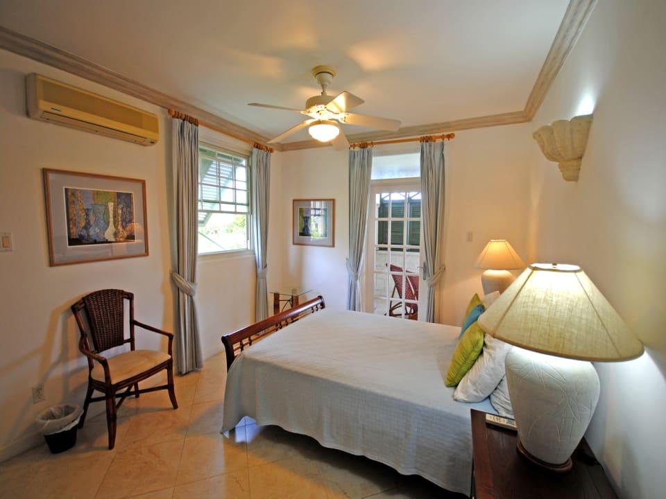 Second bedroom opens to balcony