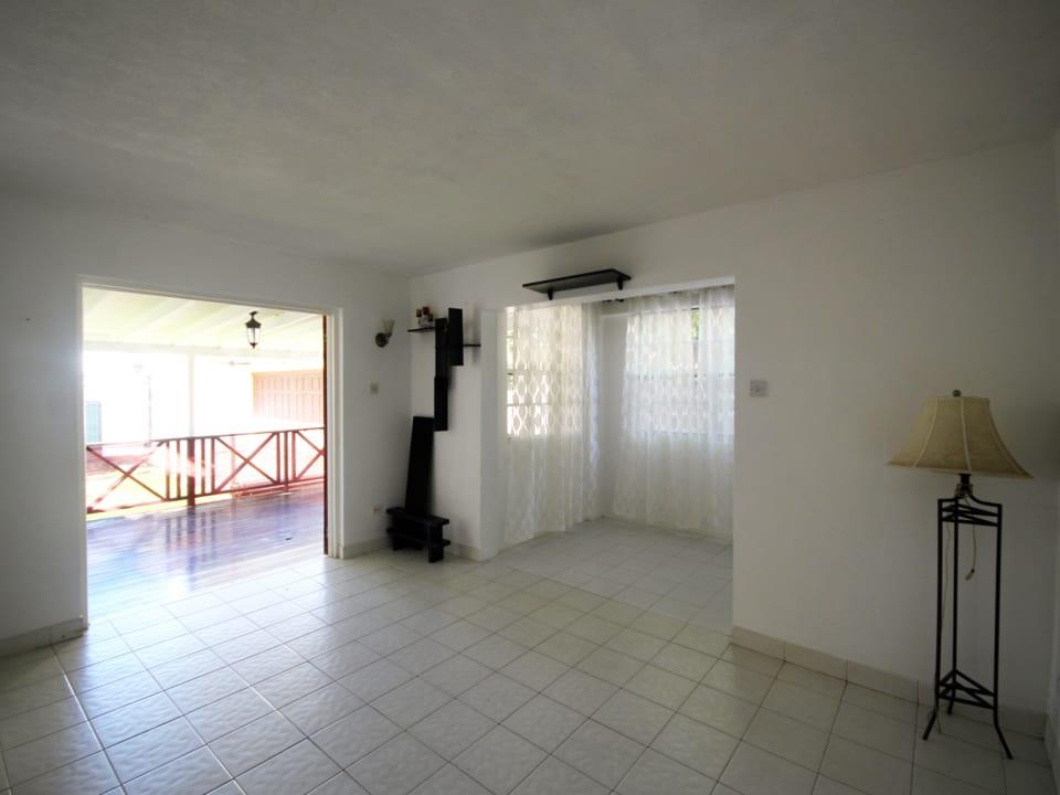 Living Room in the 2 Bed Ground Floor Apt
