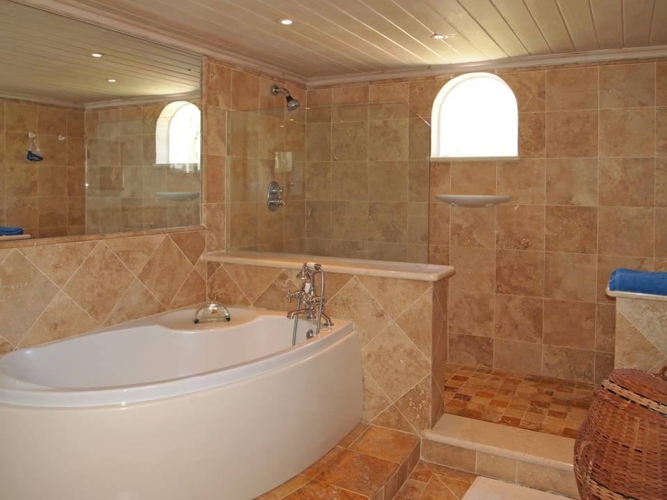 Bathroom With Tub & Shower
