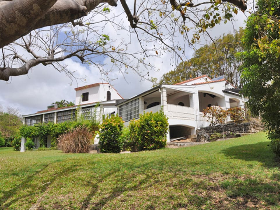 External View From Lawns