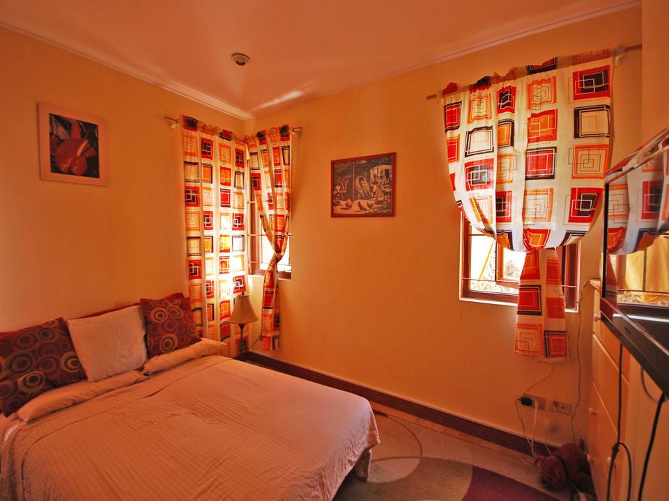 Bedroom on lower level