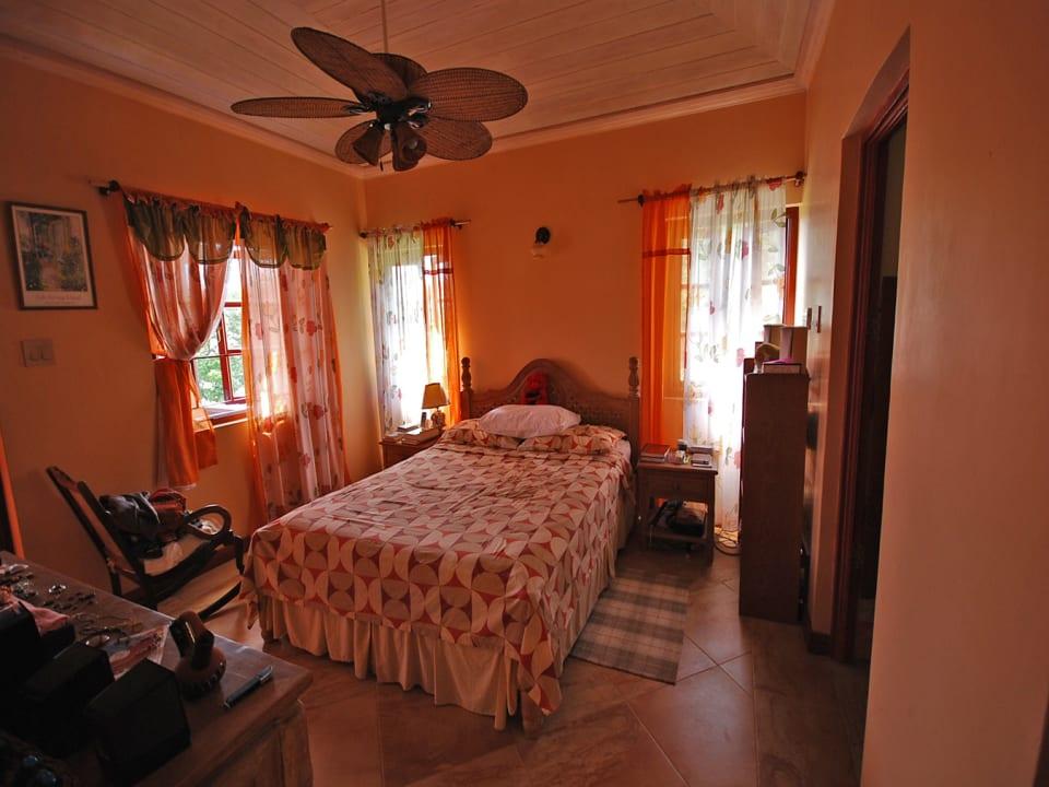 Master bedroom on upper level