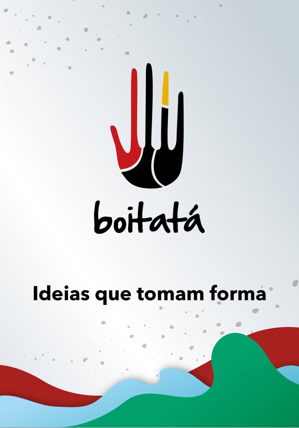 Capa com logo e slogan 'Ideias que tomam forma'