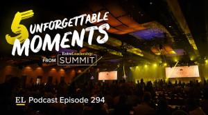 Stage at EntreLeadership Summit 2018