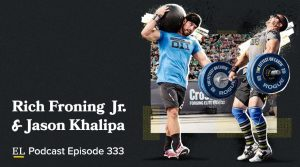 Crossfit Games champions Rich Froning Jr. and Jason Khalipa