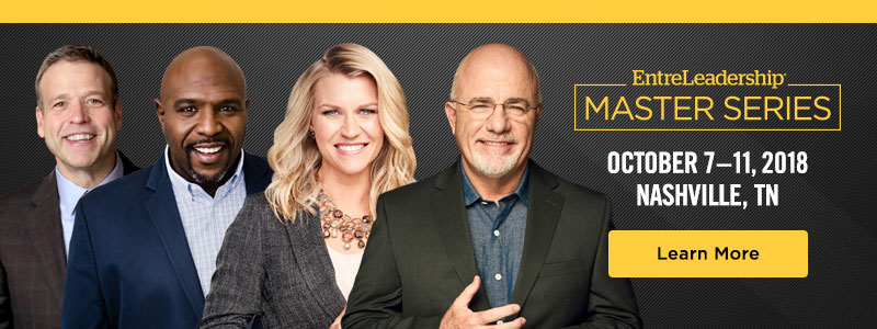 Master Series Speakers Donald Miller, Chris Hogan, Christy Wright and Dave Ramsey
