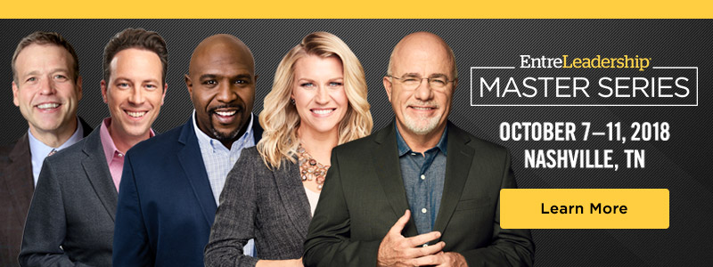 Master Series speakers Donald Miller, Ken Coleman, Chris Hogan, Christy Wright and Dave Ramsey