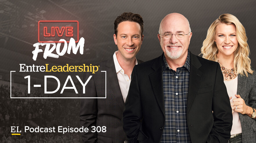 Ken Coleman, Dave Ramsey and Christy Wright