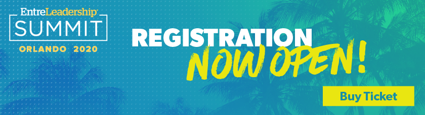 EntreLeadership Summit 2020 registration is now open