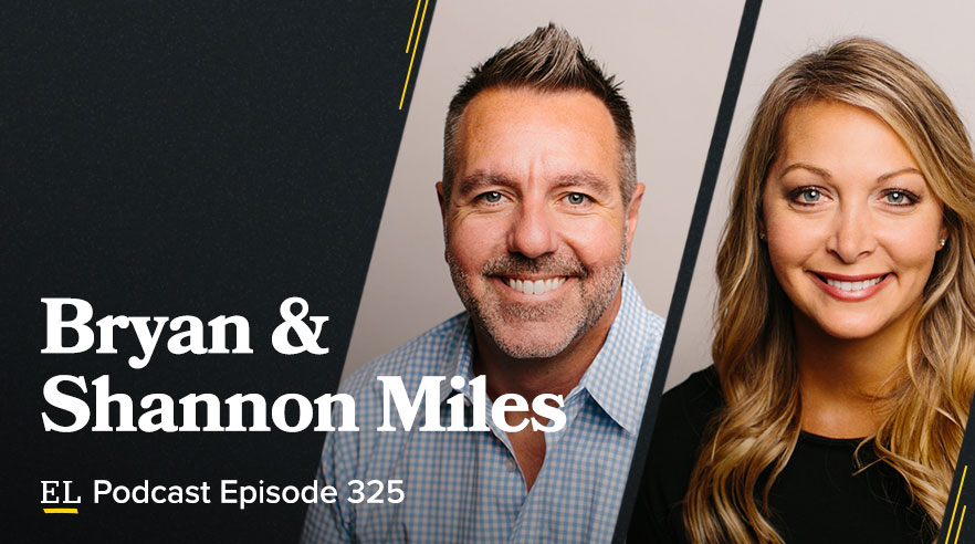 Bryan and Shannon Miles
