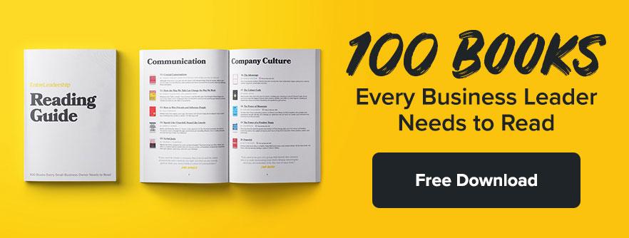 10 Leadership Books Smart People Are Reading | EntreLeadership