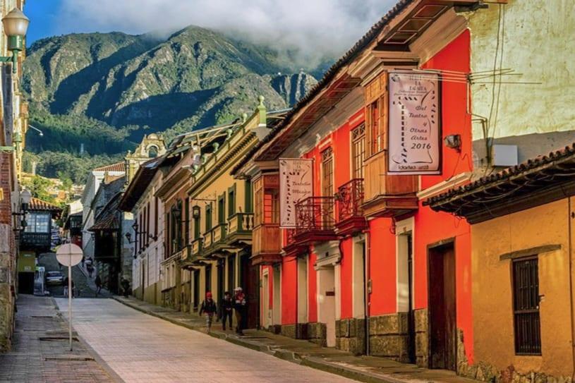Recorre Bogotá