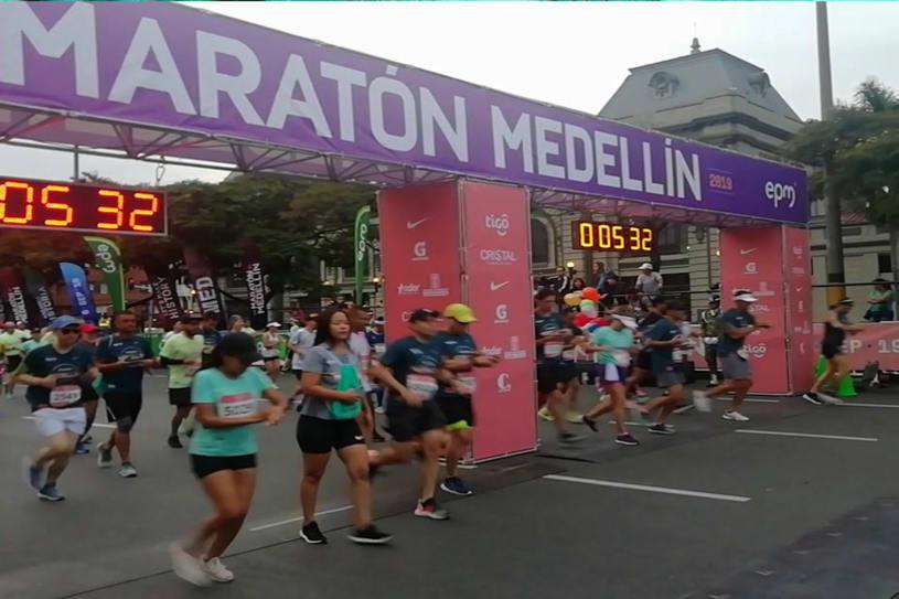 Maratón Medellín 2021
