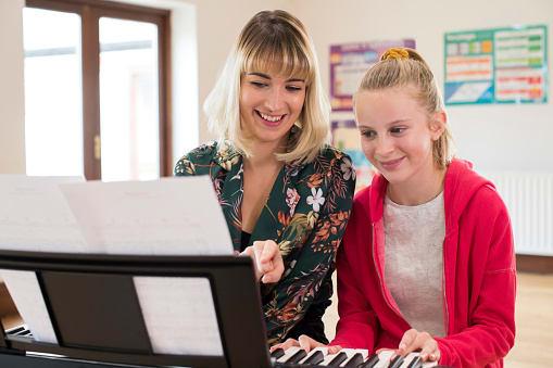 piano teacher milton