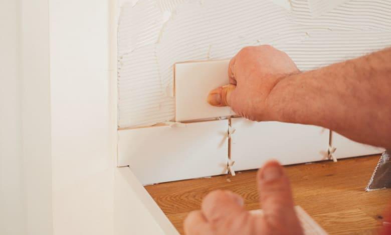 prepping drywall for tile