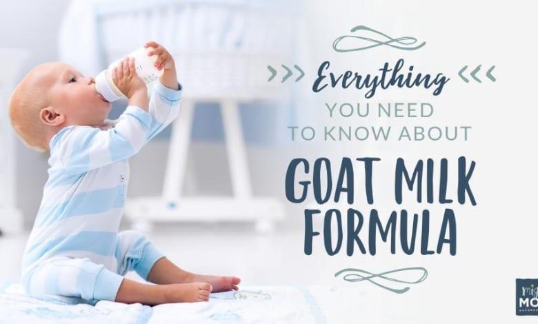 goat milk baby formula