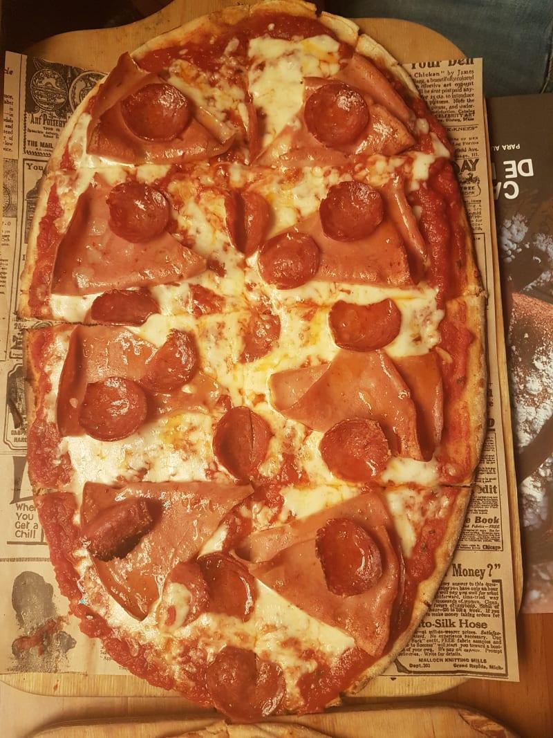 Pinsa Pizza María de Molina in Madrid – Bewertungen, Speisekarte ...