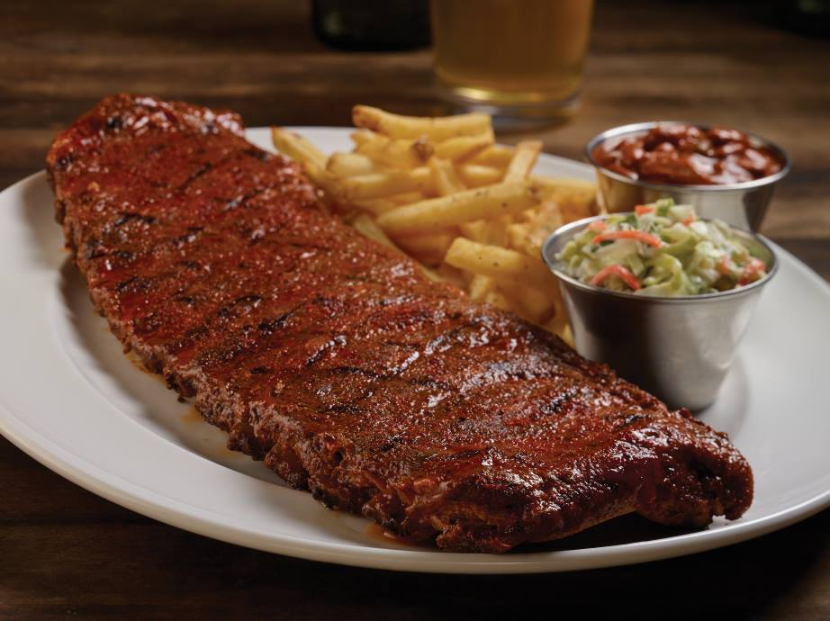 HICKORY SMOKED BARBECUE COMBO Foto van Hard Rock Cafe