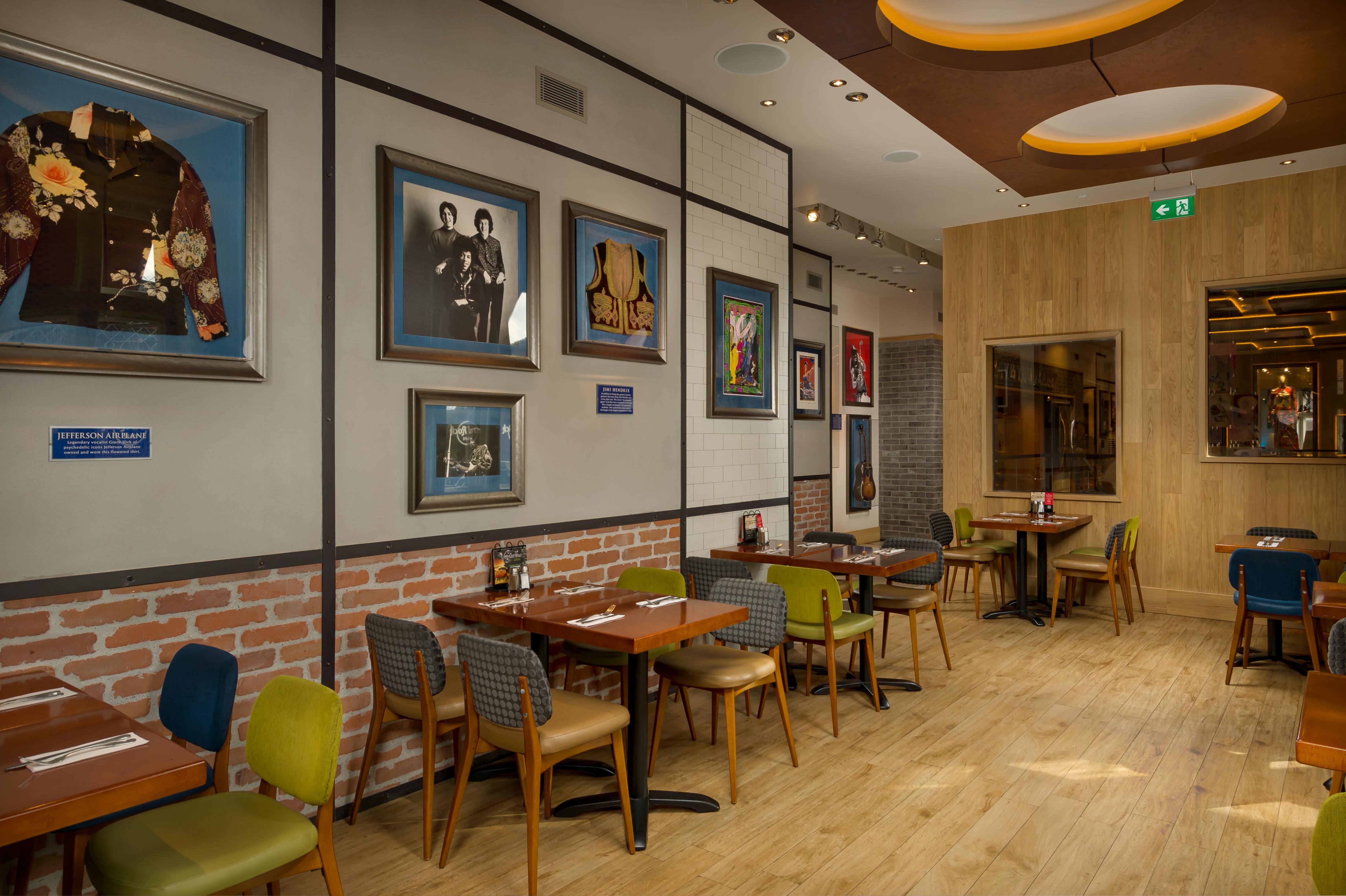 Hard Rock Café in Kopenhagen Menu, openingstijden, prijzen
