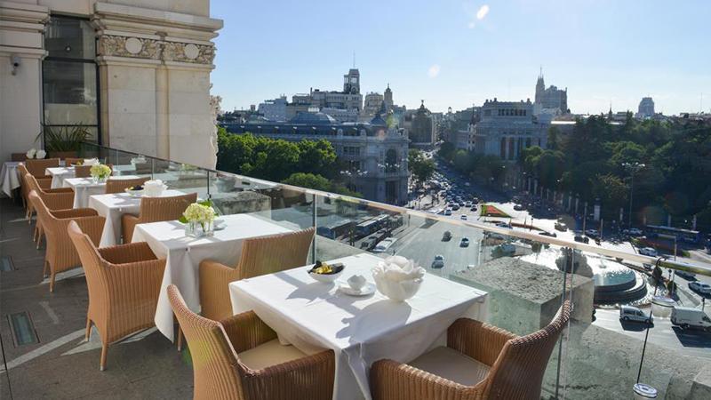 Restaurante Palacio De Cibeles En Madrid Cibeles Parque Del Retiro Menu Opiniones Precios Y Reserva
