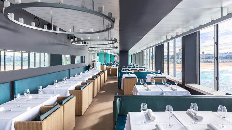Icebergs Dining Room and Bar em Bondi Beach (NSW) - Preço, endereço, menu,  reserva e horário de funcionamento do restaurante