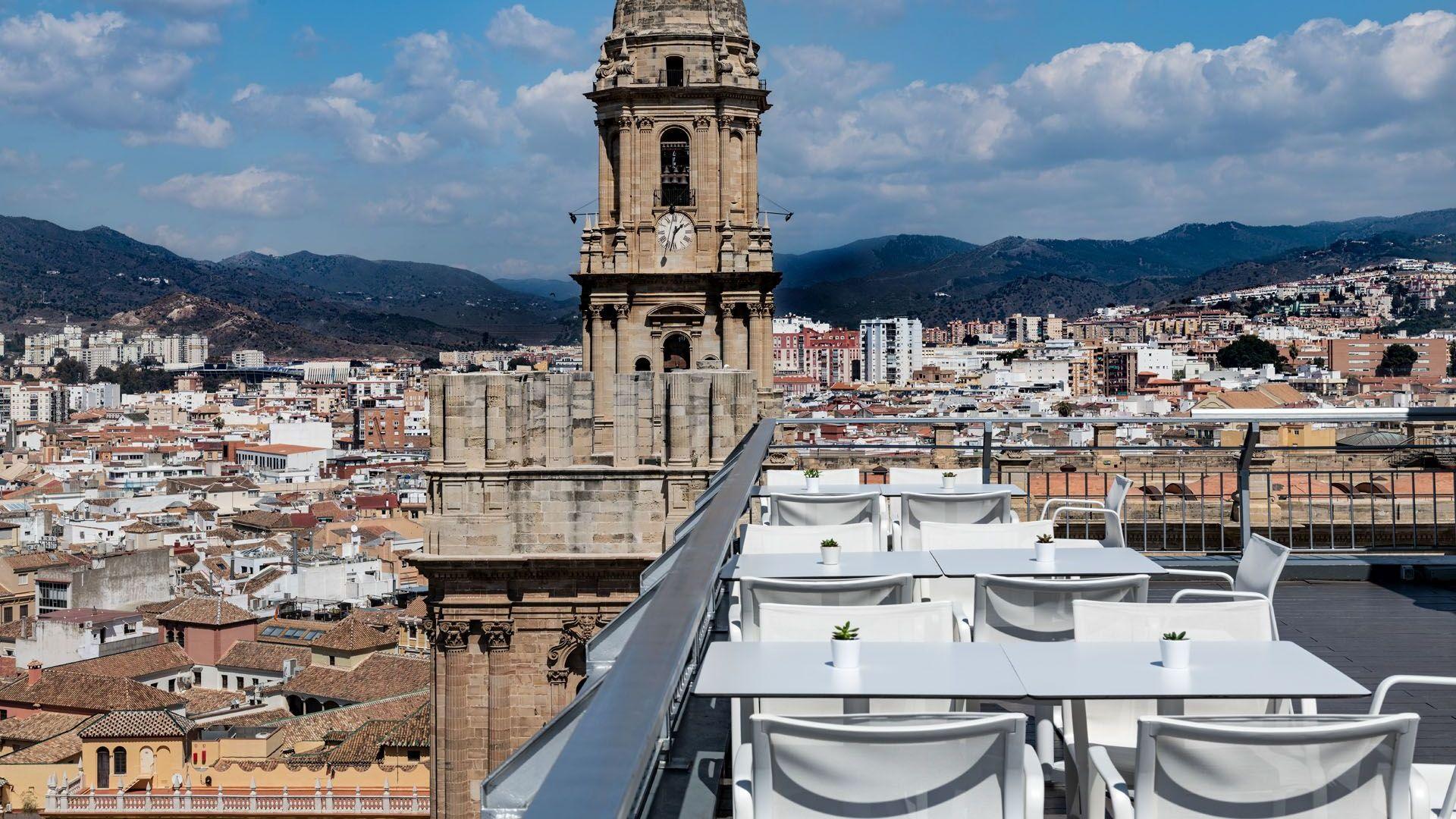 Rooftop Ac Hotel Málaga Palacio In Málaga Menu Openingstijden Prijzen Adres Van Restaurant En Reserveren Thefork Voorheen Iens