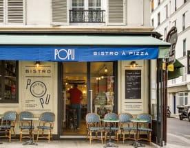 Popu Bistro à Pizza, Paris