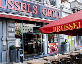 Brussels Grill Place Debrouckere, Bruxelles
