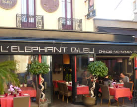 L'Elephant Bleu, Antibes