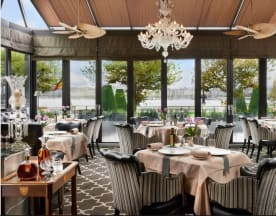 Windows Restaurant at Hotel d'Angleterre, Genève