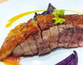 El plato rico, Barcelona