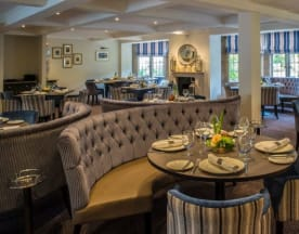 Emlyn Restaurant at Burford Bridge Hotel, Dorking