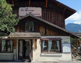 La Grange de Domancy, Domancy
