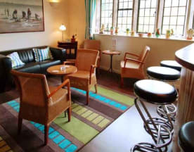 Restaurant at Trevalsa Court Hotel, Saint Austell