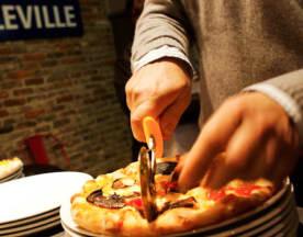 La Cerise sur la Pizza - Belleville, Paris
