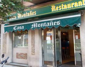 Casa Montañes, Zaragoza