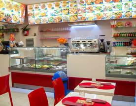 Halal indian restaurant, Roma
