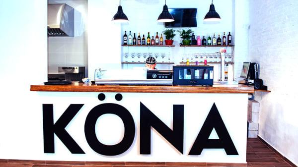 Vista sala - KÖNA Sushi bar, Valencia