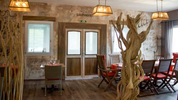 Vue de la salle - Restaurant le Golf, Gonesse