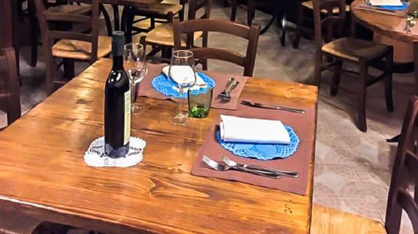 Particolare tavolo - Nangalarruni, Castelbuono