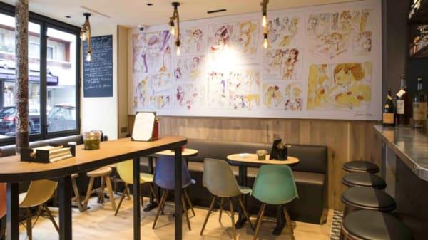 Salle du restaurant - Wim à Table, Paris