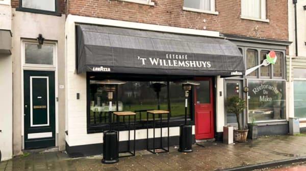 Ingang - Eetcafe 't Willemshuys, Bennebroek