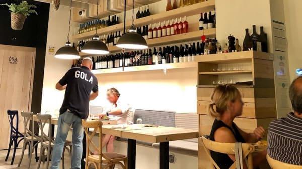 Sala Interna - GOLA Gourmet Kitchen, Bari