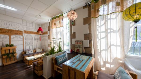 Salle du restaurant - Bubble Zen, Limoges