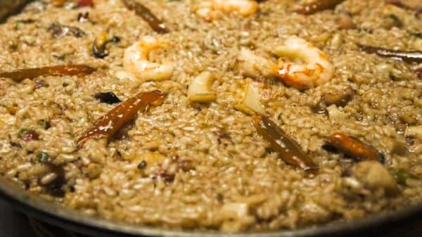 arroz pelado - Casa Amadeo, Poblenou del Delta
