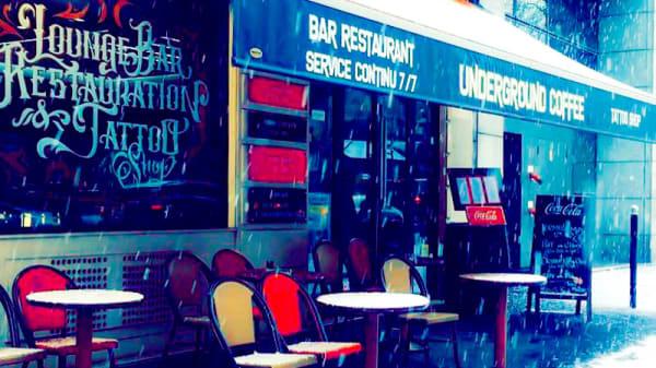 Entrée - Underground Coffee Gare de Lyon, Paris