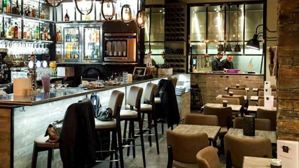 Vue de l'intérieur - Bambou Cafe, Cannes