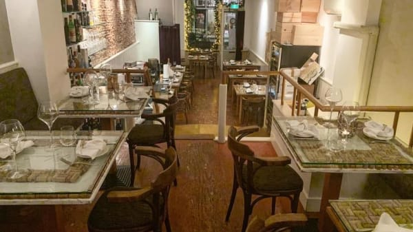 Het restaurant - Momenti Italian Cuisine, Ámsterdam